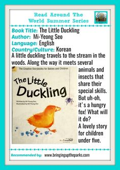 A Korean children's book about a little duckling and his adventures in the woods. Best for kids 0-3 years old! Korean Children's Books | Baby Books