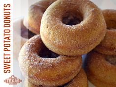 Heavenly Sweet Potato Doughnuts!