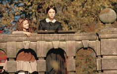 Adele and Jane Jane Eyre 1996, Jane Eyre Film, Movies Showing, Movies And Tv Shows, Charlotte Bronte Jane Eyre, Charlotte Gainsbourg, Period Dramas, Costume Design, Adele
