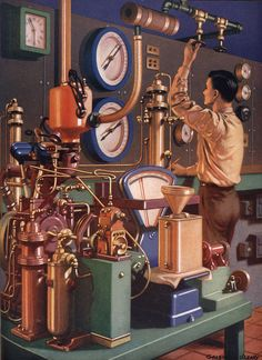 Vintage Science illustration- oh yeah!!!