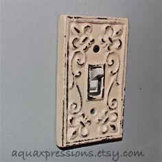 Bright Grape Decorative Light Switch Plate...easy diy!