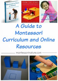 A Guide to Montessori Curriculum and Online Resources | Montessori Nature