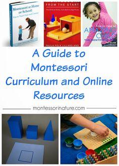 A Guide to Montessori Curriculum and Online Resources | Montessori Nature