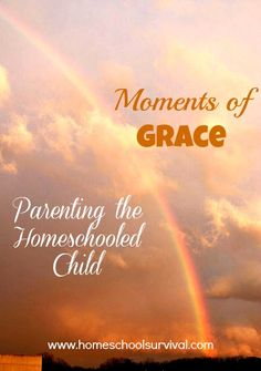 Moments of Grace - Parenting the Homeschooled Child