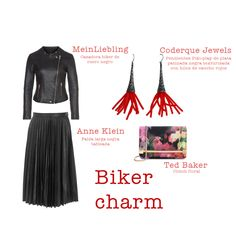 Outfit 01.30.15 Biker charm Anne Klein meinLiebling Ted Baker Coderque Jewels