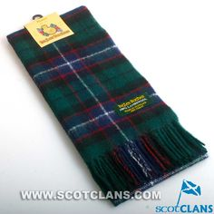 Clan Hunter Tartan Scarf