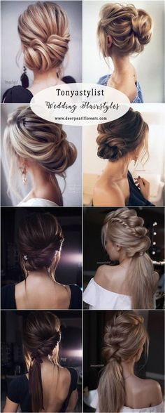 Tonyastylist long wedding hairstyles and updo ideas