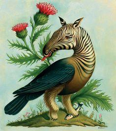 surreal animal paintings