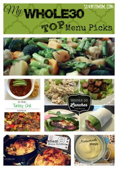 The top recipes that helped me survive Whole30!