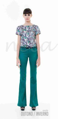 Look Neca: simples, com cor e confortável!