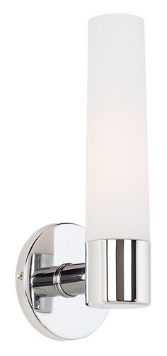 "Low profile & rounded - perfect | George Kovacs Chrome 12 1/2"" High Wall Sconce -"