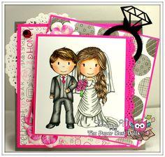 The Paper Nest: Wedding Couple @loriann