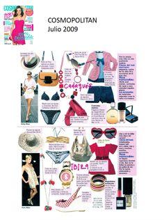 #Colaboración con la #Revista COSMOPOLITAN. Julio 2009.
