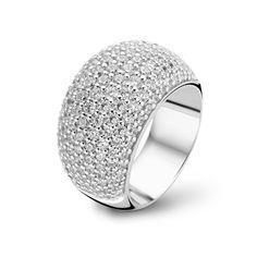 Ti Sento Milano Sterling Silver Ring 1799ZI