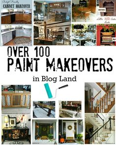 Over 100 Paint Makeovers in Blog Land!