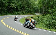 Suggested as the Top 5 Motorcycle Routes in the U.S.A.