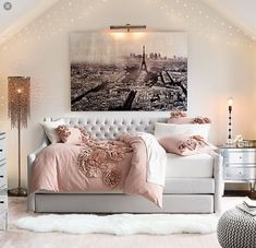 Paris room for a teen