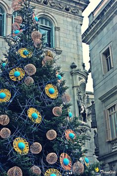 Weihnachten in Barcelona — El Gotico.