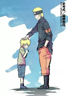 Naruto before and after