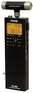 Tecsun PL-360 Digital PLL Portable AM/FM Shortwave Radio with DSP, Black by Tecsun. $46.78. The Tecsun PL-360 is a portable digital AM/FM shortwave radio. This PLL synthesized receiver picks up a wide range of broadcasting including AM, FM & shortwave. To tune into a station, you can use one of the following 4 methods: Tuning knob, memory, ATS tuning & Tecsun's own & unique ETM (Easy Tuning Mode). Different from ATS, the ETM does a more comprehensive scanning of all recei...