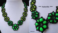 """Asteráta"" necklace by mnaaauu"