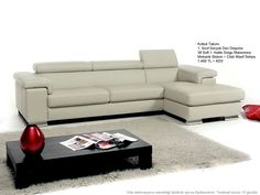Angel Sofa Sectional Bull Leather White (right facing chaise) Modern Furniture Stores, Contemporary Furniture, Living Room Furniture, Sectional Sofa With Chaise, Leather Sectional Sofas, Sofa Design, Sofa Manufacturers, Home Design Decor, Home Decor