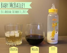 Maybe the Best Announcement Ever   {TheMcBaileys.com} #babyannouncement