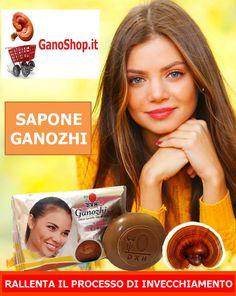 Sapone con Ganoderma Lucidum per combattere l'invecchiamento della pelle. Lo trovi qui http://www.ganoshop.it/shop/cura-della-persona/sapone-ganozhi/