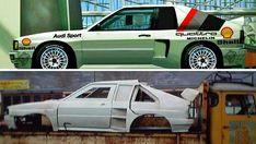 Audi, Rally, Motor, Sport, Cars, Vehicles, Design, Engineers, Vintage Cars