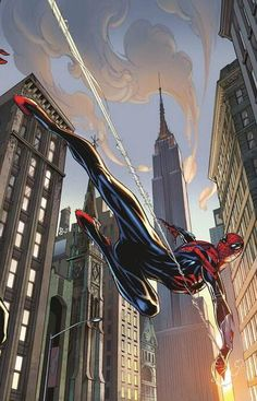 Superior Spider-Man #31 variant cover by J Scott Campbell & Nei Ruffino