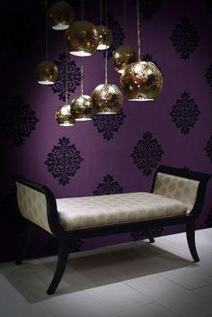 baresque purple wallpaper