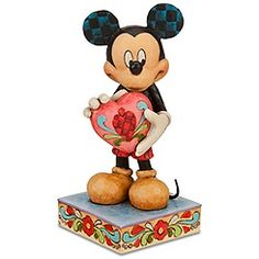 *MICKEY MOUSE ''A Gift of Love''  Figurine by Jim Shore