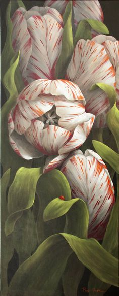 Page Ough SPRING TULIPS