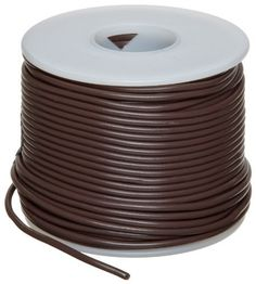 "GPT Automotive Copper Wire, Brown, 18 AWG, 0.0403"" Diameter, 100' Length (Pack of 1) by Small Parts. $17.80. GPT general purpose automotive brown color wire temp range -40 to 105 C"