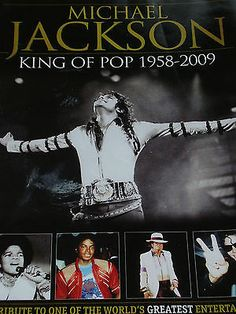 """Michael Jackson """"King Of Pop"""" 83 Page Tribute To The Worlds Greatest Entertainer - http://www.michael-jackson-memorabilia.co.uk/?p=8863"""