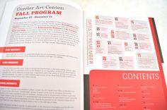 Some fun ideas on organizing info in a brochure - Cargo