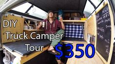 Ultimate Home Made Truck Camper Tour DIY