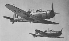 The Blackburn Roc was a British Fleet Air Arm fighter of the second world war. Derived from the Blackburn Skua, the Roc had its armament in a turret. Ww2 Aircraft, Fighter Aircraft, Military Aircraft, Fighter Jets, Royal Navy Aircraft Carriers, Mythical Birds, African American History, Native American, Royal Air Force