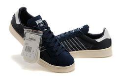 sports shoes 83ba5 578b2 Adidas Originals x KZK Campus 80s 84-Lab Couples Shoes Blue  matts  1