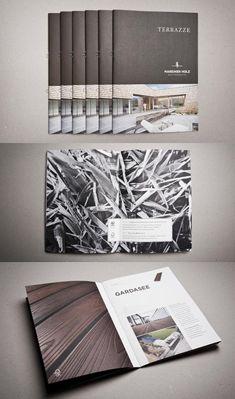 Brochure Design 25 http://www.behance.net/gallery/Mareiner-Holz-corporate-identity-design/1716735