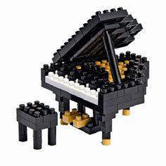 Nanoblock - grand piano noir
