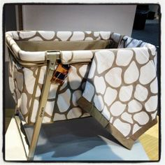 """New Kid and Baby Products From ABC Kids Expo For 2013 """"Baby Home's Dream Cot is getting a stylish makeover with a limited-edition fabric from Olio. Only 1,000 pieces will be made, and they'll be available in January."""""""