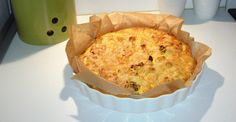 Bloemkoolquiche - Koolhydraatarme recepten I Love Food, A Food, Good Food, Food And Drink, Yummy Food, Oven Recipes, Low Carb Recipes, Cooking Recipes, Low Carb Quiche