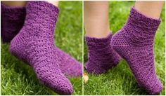How to crochet socks indigo dreams socks