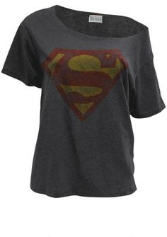 Superman Tee - View All Tops - Tops - Clothing - Alloy Apparel Superman Outfit, Superman Shirt, Comic Clothes, Superhero Clothes, Stylish Outfits, Cute Outfits, Super Hero Outfits, Nerd Fashion, Geek Chic