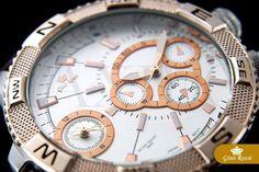 Pánské hodinky - Gino Rossi, Bunt, hnědé Breitling, Gin, Watches, Accessories, Clocks, Clock, Jeans, Ornament