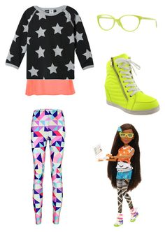 """""""Project MC2 Bry Themed Outfit"""" by artsydoglovergabs ❤ liked on Polyvore featuring Glamorous, Molo, Versace, MC2, women's clothing, women, female, woman, misses and juniors"""