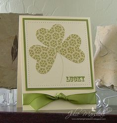 Stamps: Apple Blossoms & Afterthoughts...By:stampingimpressions..Julie Marshall