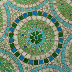 Beautiful simple mosaic design