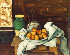 Still Life with Commode Paul Cezanne Reproduction | 1st Art Gallery